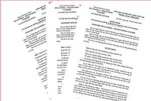 Hà Tĩnh: Thu hồi hơn 50 tỷ đồng 'bòn rút' do khai man hồ sơ người có công