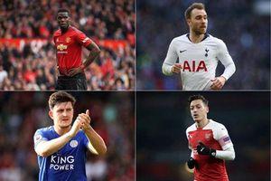 Top 10 ngôi sao Premier League có thể bị 'tống cổ' trong Hè 2019