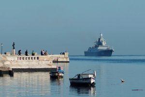 Tàu Nga mang tên lửa cập cảng Cuba, Mỹ theo dõi 'nhất cử nhất động'
