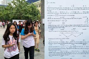 Đề thi môn Toán kỳ thi THPT Quốc gia năm nay khó hay dễ?