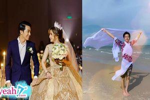 Mai Quỳnh Anh đăng ảnh cưới lãng mạn tựa công chúa hoàng tử, Cris Phan vào bình luận tấm hình khiến cô 'mất hứng'