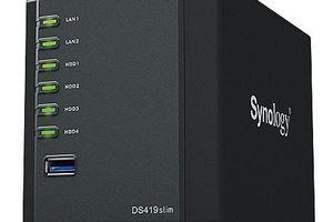 DiskStation DS419slim - Đám mây cá nhân trong lòng bàn tay