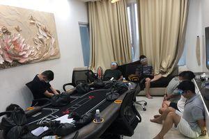 Triệt phá sòng bạc porker ở tòa nhà Price Residen Sài Gòn