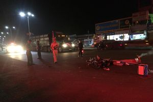 2 vụ tai nạn giữa xe tải và xe máy trên quốc lộ khiến 2 người tử vong