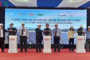 Khánh thành nhà máy điện mặt trời lớn nhất miền Trung