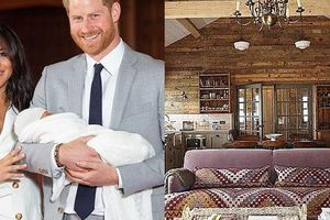 Sự xa xỉ gây choáng ngợp trong lâu đài mới tu sửa hết hơn 7 tỷ của Công nương Meghan và Hoàng tử Harry