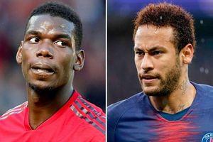 Man United sẽ dùng Pogba để đổi lấy Neymar từ PSG?