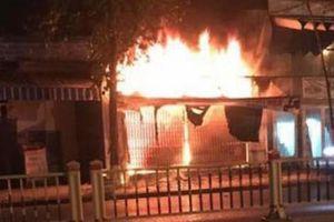 Nghi án chồng đánh vợ, châm lửa đốt nhà rồi tự sát ở Ninh Bình