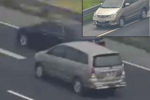 Nóng trên mạng xã hội: Lùi xe trên cao tốc như hành vi giết người!