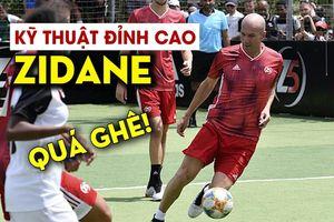 Zidane biểu diễn kỹ thuật đỉnh cao ở tuổi 47 khiến fan ngây ngất