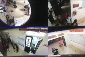 Đối tượng côn đồ lao vào hành hung nhân viên y tế ở Nghệ An