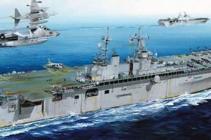Mỹ triển khai hàng nghìn lính thủy đánh bộ và tàu chiến tới bờ biển Iran