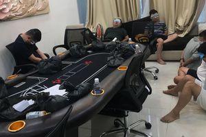 Triệt phá sòng bạc porker quy mô lớn ở chung cư TP Hồ Chí Minh