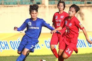 Hà Nội trút mưa bàn thắng, thổi lửa cuộc đua vô địch giải nữ VĐQG