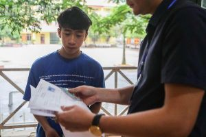 Nam thí sinh 'dũng cảm' nhất kỳ thi THPT Quốc gia 2019: Ngồi một mình một phòng thi có 2 giám thị
