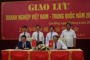Cao Bằng: Tăng cường hợp tác phát triển kinh tế biên giới