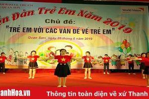 Huyện Quan Sơn tổ chức Diễn đàn trẻ em năm 2019
