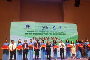 Chính thức khai mạc Diễn đàn Công nghệ và Năng lượng Việt Nam 2019