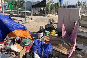 Cưỡng chế 109 căn nhà xây dựng trái phép tại một thôn ở Nha Trang