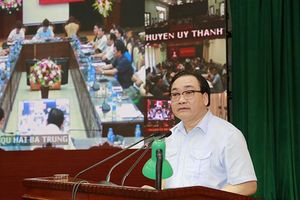 Bí thư Thành ủy Hoàng Trung Hải: Quyết liệt tháo gỡ vướng mắc trong giải ngân vốn đầu tư xây dựng cơ bản