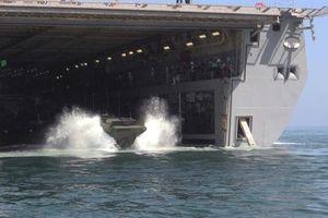 Thủy quân lục chiến Mỹ mua xe đổ bộ 'biến hình' Anh