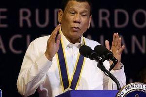 Ông Duterte thách Mỹ, Anh và Pháp ngăn Trung Quốc ở biển Đông