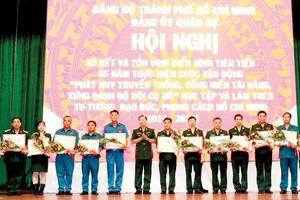 Bộ Tư lệnh TPHCM khen thưởng 86 gương điển hình Tuyên dương các gia đình bền vững, hạnh phúc