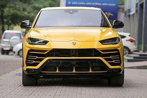 Siêu SUV Lamborghini Urus 'hàng xách tay' bán 20 tỷ ở Hà Nội