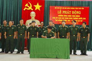 BĐBP Phú Yên hưởng ứng cuộc vận động 'Đã uống rượu bia - Không lái xe'