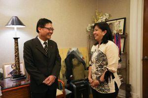 Phó tổng thống Philippines cảm ơn đại sứ Việt Nam vụ tàu cá chìm ở Biển Đông