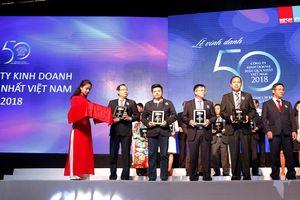 FPT Retail được vinh danh top 50 Công ty kinh doanh hiệu quả nhất Việt Nam