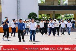 Hà Tĩnh hoàn thành kỳ thi THPT quốc gia đảm bảo nghiêm túc, an toàn