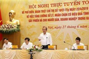 Phó thủ tướng: Hối lộ trong lĩnh vực hành chính, dịch vụ công còn nhức nhối