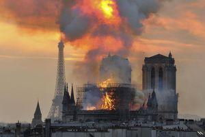 Chập điện hoặc tàn thuốc lá có thể là nguyên nhân gây cháy Nhà thờ Đức Bà