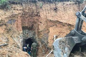 Nghệ An: Xử lý nhiều hầm khai thác quặng thiếc cũ tại Quỳ Hợp