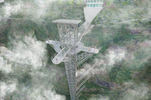 Cầu kính cao 500m treo vách núi gần Sa Pa liệu có hot hơn Cầu kính Mộc Châu?
