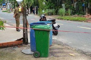 Thai nhi được phát hiện trong thùng rác tại Bình Dương