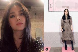 Song Hye Kyo thay đổi phong cách trang điểm sắc sảo hậu ly hôn