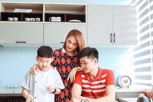 'Dù vất vả thế nào, hãy nhớ về gia đình để làm động lực'
