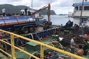 Phát hiện tàu Thiên Hải 09 chở trên 36.000 lít dầu DO trái phép