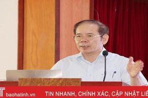 Phổ biến Luật Đo đạc và Bản đồ cho các đơn vị liên quan tại Hà Tĩnh