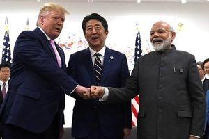 Ấn Độ-Nhật Bản-Mỹ thảo luận về hợp tác an ninh, kết nối hạ tầng
