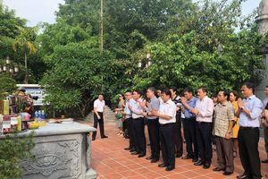 Đoàn đại biểu Thông tấn xã Việt Nam tới thăm và làm việc tại Hải Phòng