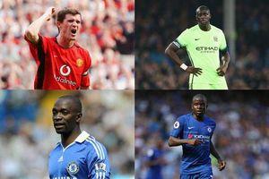 Top 10 tiền vệ trung tâm xuất sắc nhất trong lịch sử Premier League