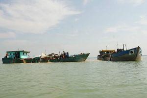 Tàu đánh cá và phương tiện thủy nội địa phát sinh ô nhiễm dầu nghiêm trọng