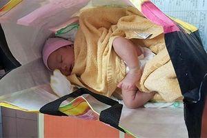 Bé gái 30 ngày tuổi bị bỏ rơi ở bến xe Sài Gòn trong ngày Gia đình Việt Nam