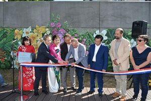 'Mùa xuân Pháp - Việt' trổ hoa bên sông Seine