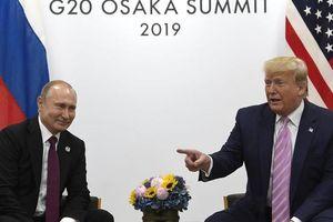Ông Putin mời ông Trump tới Nga dự lễ kỷ niệm Ngày chiến thắng