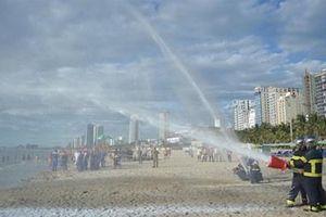 Đà Nẵng diễn tập ứng phó sự cố tràn dầu năm 2019