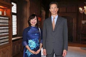 Đại sứ Lê Linh Lan trình Ủy nhiệm thư tại Công quốc Liechtenstein